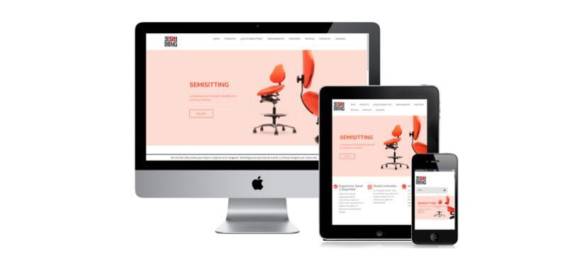 Semisitting new website.